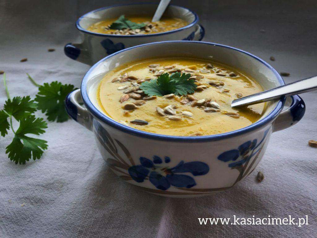 zupa krem marchewkowy